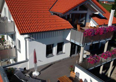 Balkone Wipfelblick
